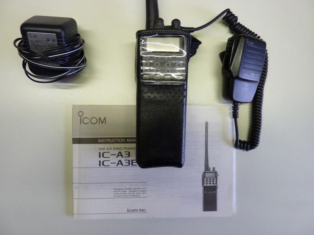 Icom IC-A3 air band radio | Balloons4sale eu