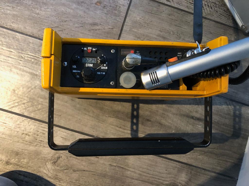Dittel FSG 71 airband transceiver