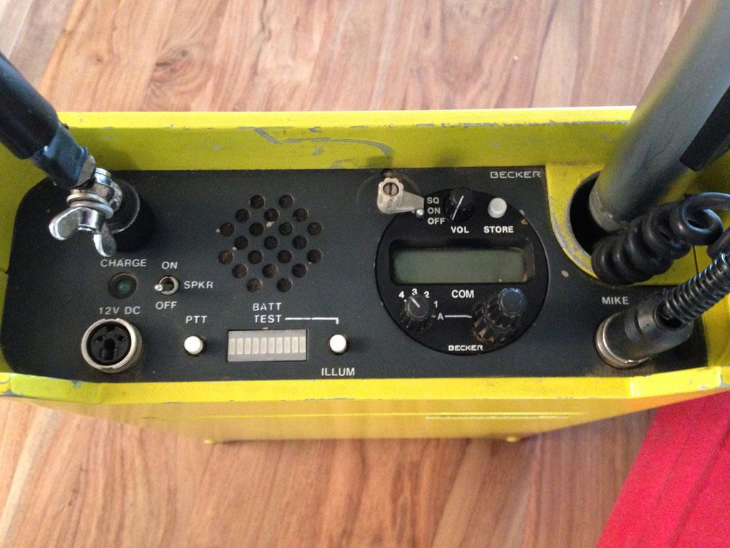 Becker GK-320 air band radio | Balloons4sale eu
