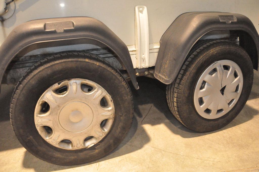 2.5m tandem axle Westfalia trailer