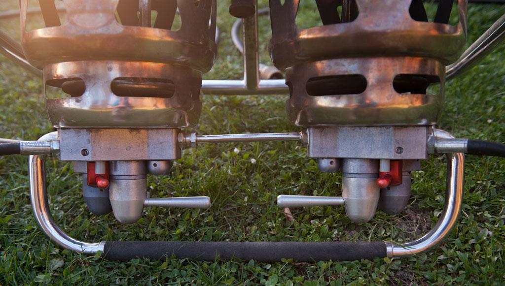 Kubicek Komet Duo burner
