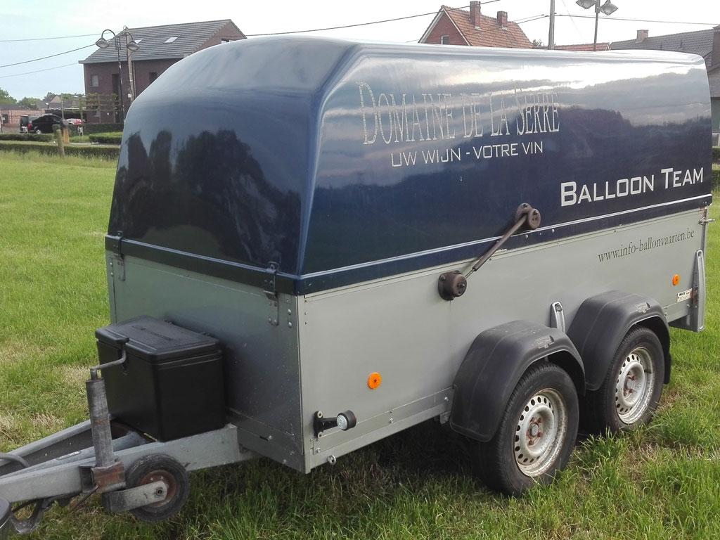 3 0m tandem axle Westfalia trailer | Balloons4sale eu