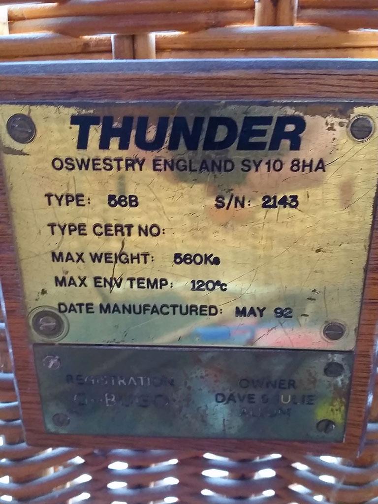 Thunder bottom end