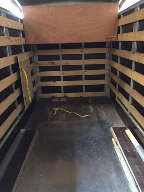 3.0m tandem axle aluminium trailer