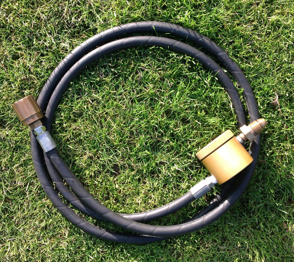 refueling hose with bonanno filter