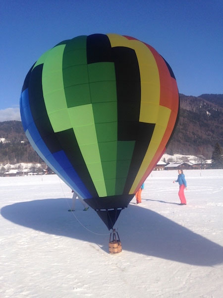 30m3 model balloon envelope