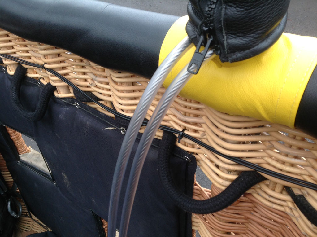Cameron 105 flat top basket