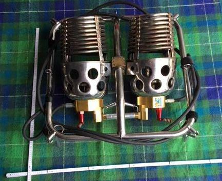 Lindstrand Jetstream Series 2 double burner