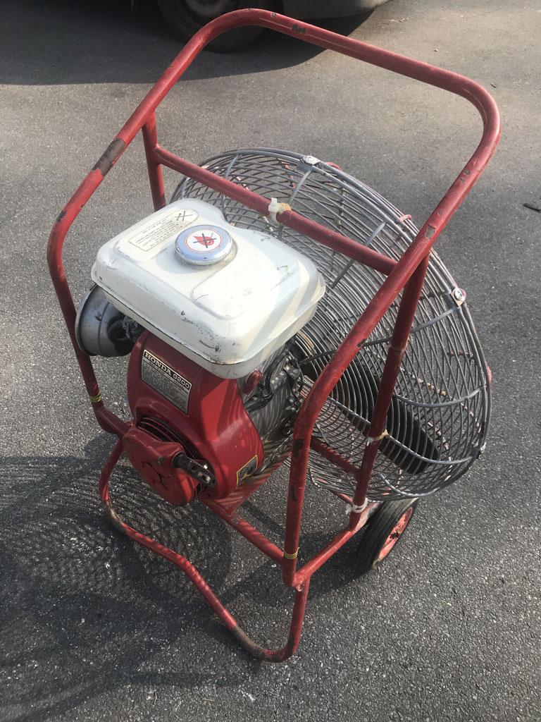 5.0 HP inflation fan
