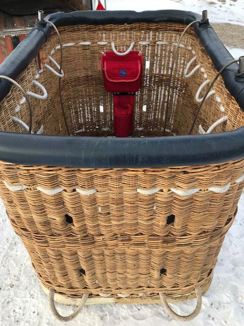 Cameron 105/120 flat top basket