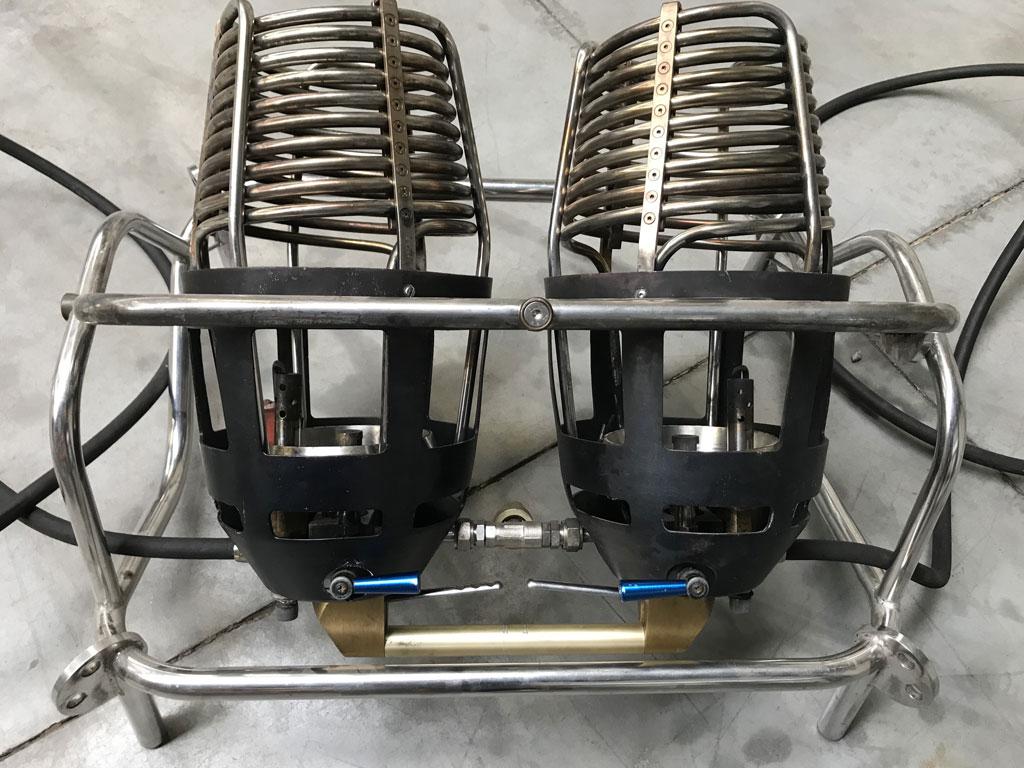 Ultramagic MK10 double burner