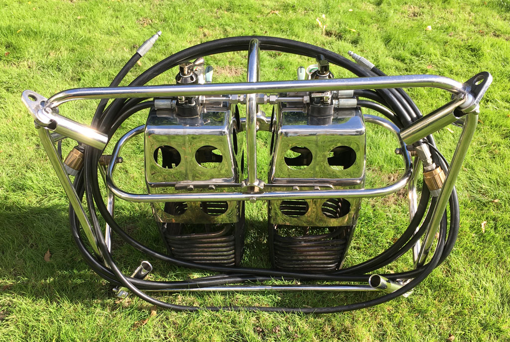 Cameron MK4 Super double burner