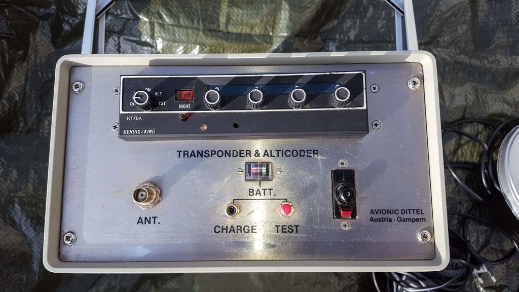 Bendix/King KT76A mode C transponder