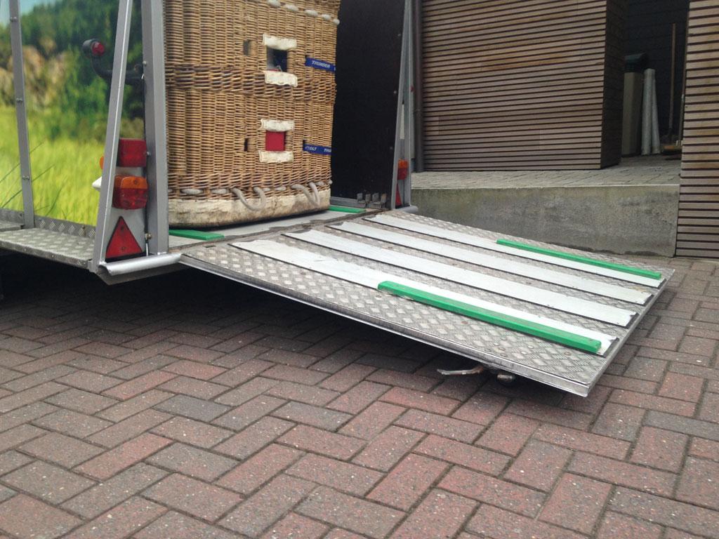Heiker tandem axle trailer