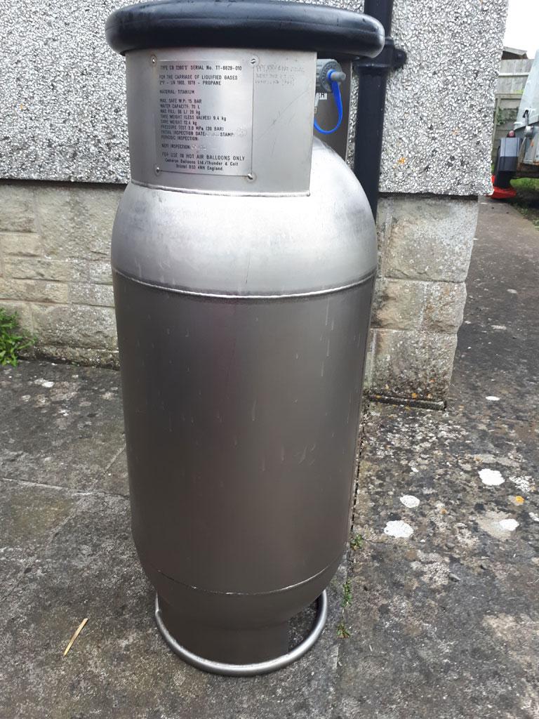 Cameron CB2380S Titanium cylinder