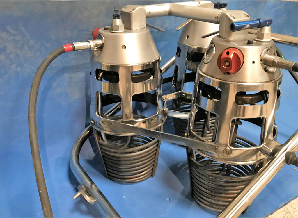 Ultramagic Mk21 triple burner