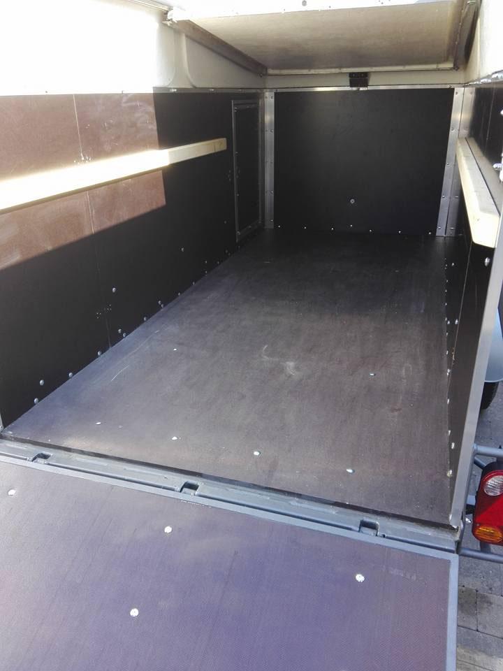 Hoffman single axle trailer