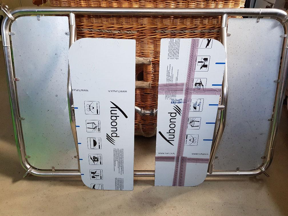 Kubicek burner frame for K50TT