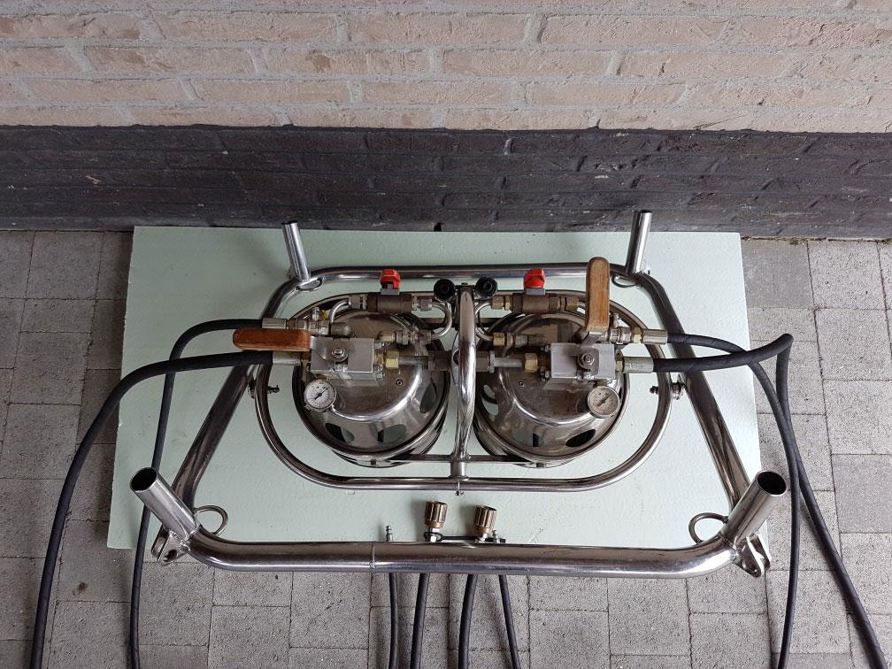 Colt C2 double burner
