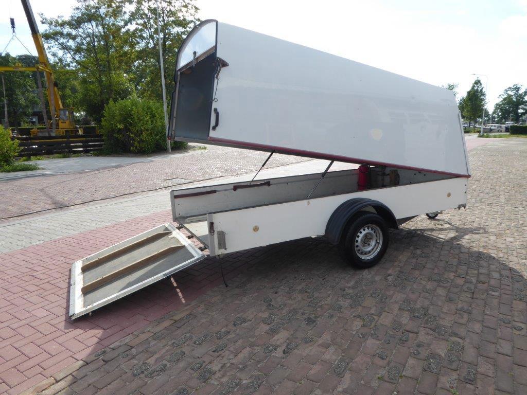Spindelberger single axle trailer