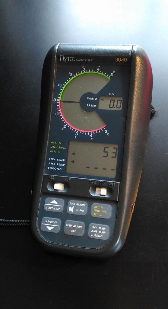 Flytec 3040 with TT34