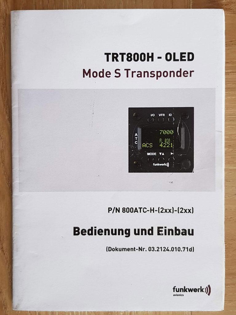 Funke TRT800H transponder