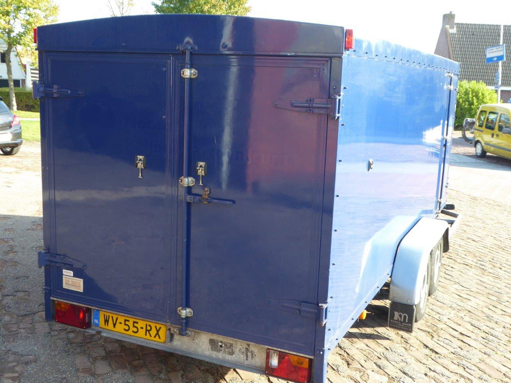 Anssems tandem axle trailer