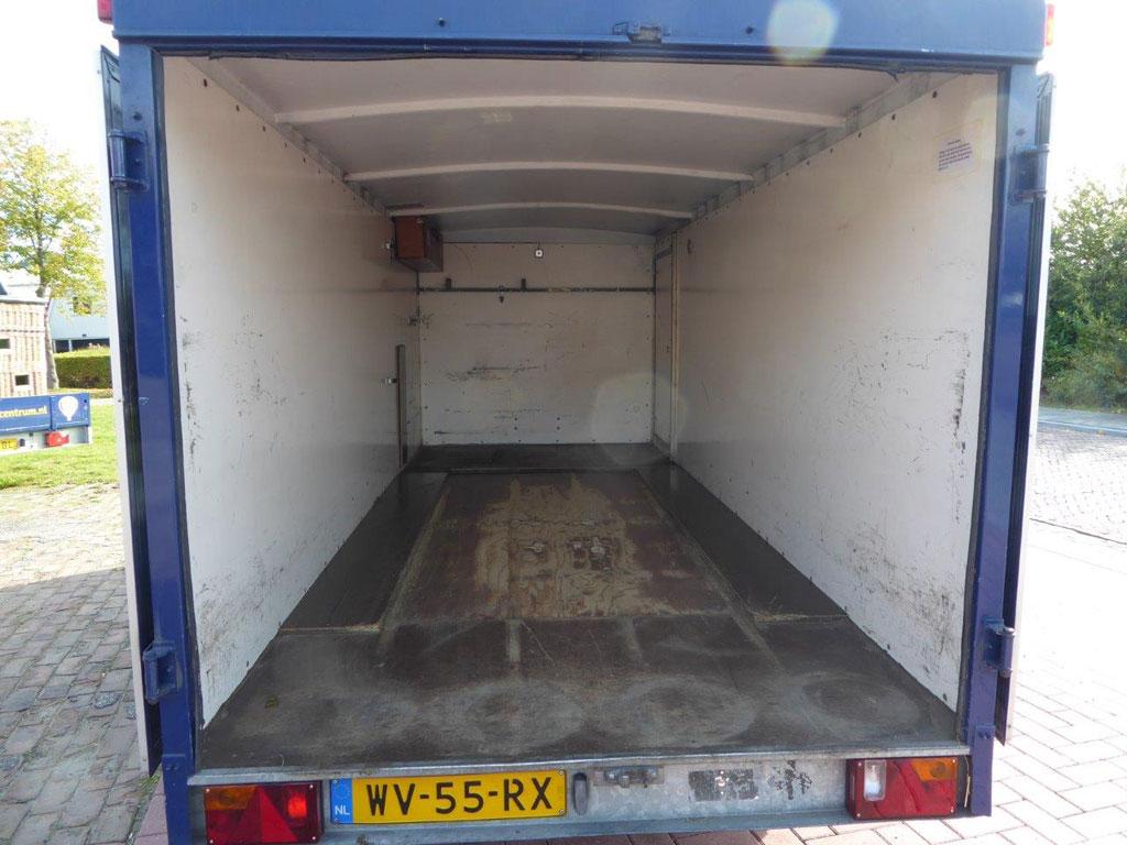 Anssems tandem axle trailer