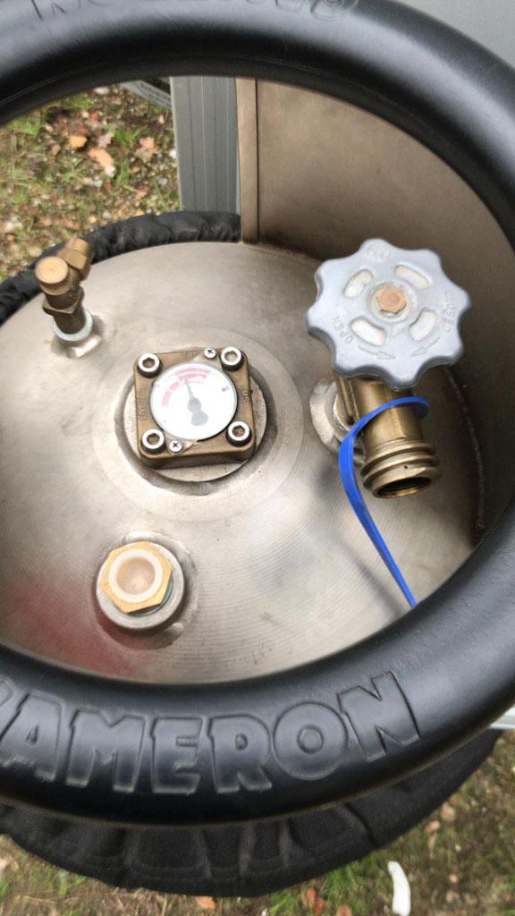 4x Cameron CB2383S Titanium cylinders