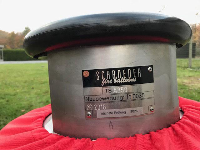 3x Schroeder VA70 cylinders
