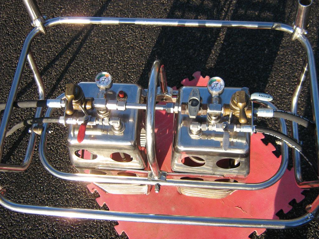 Cameron MK4 double burner