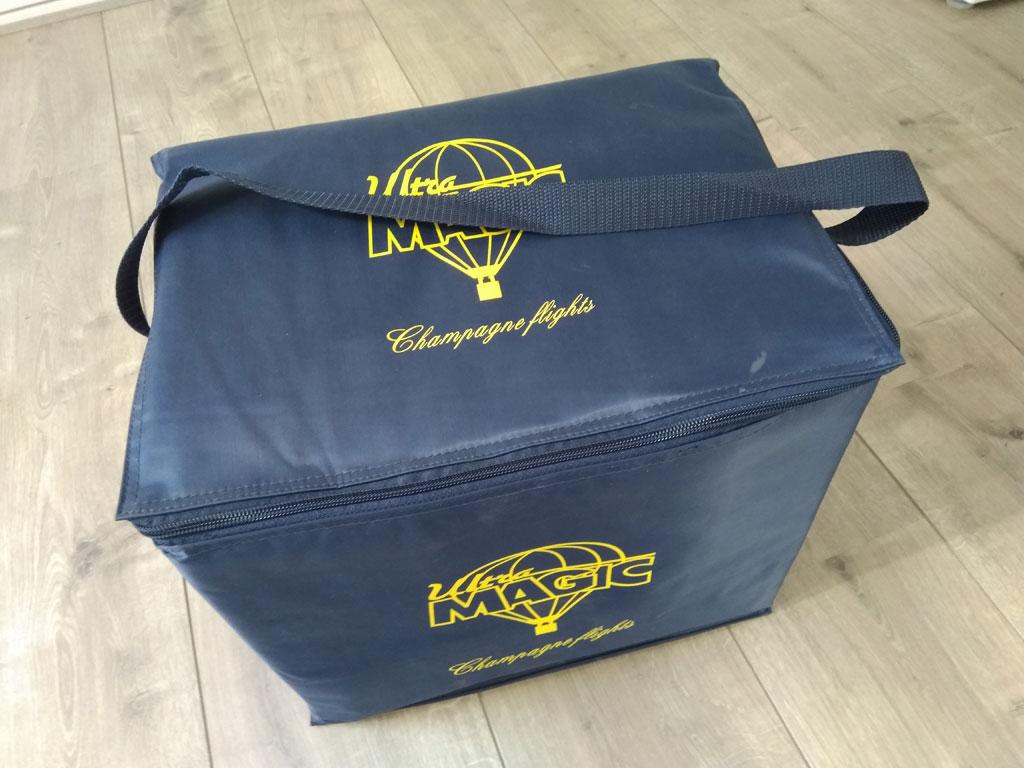 Ultramagic champagne cooling bag