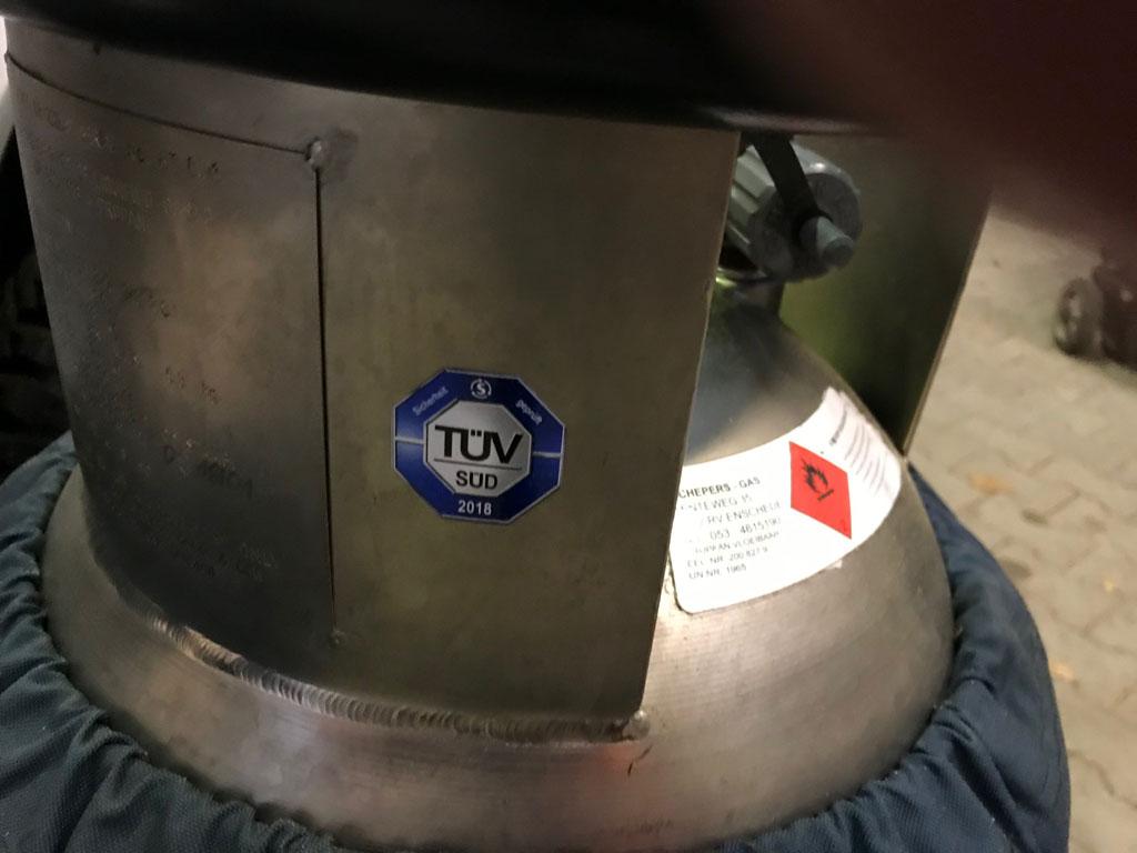 4x Cameron CB2380S Titanium cylinders