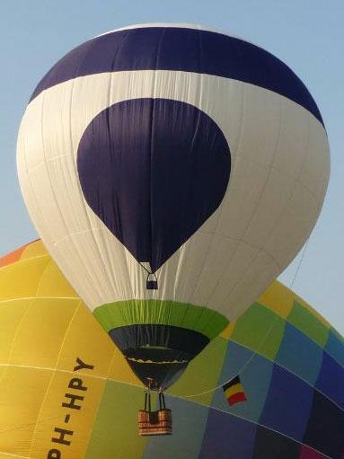 50m3 model balloon envelope
