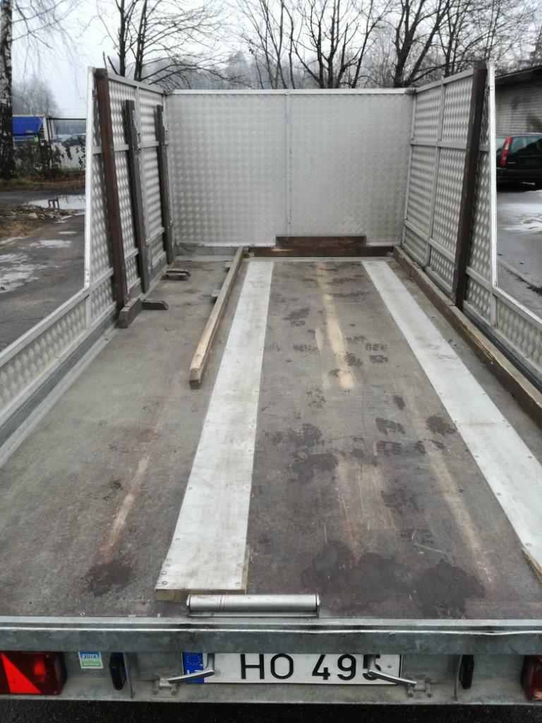Hapert tandem axle flat bed trailer