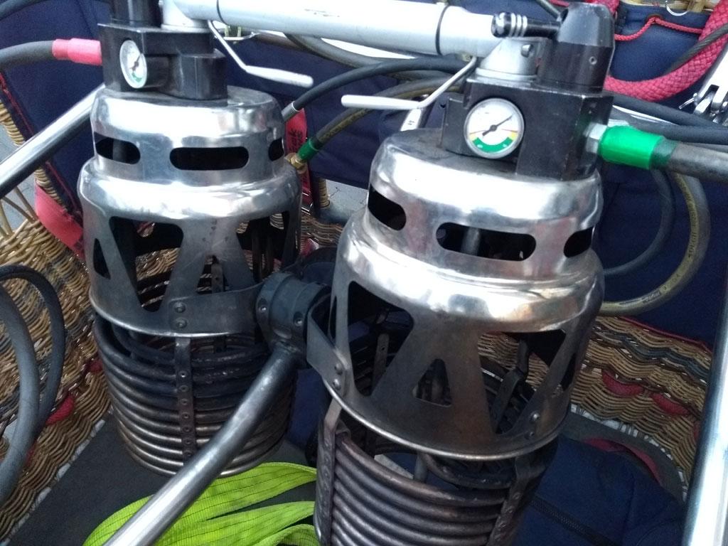 Kubicek Komet Duo Plus burner