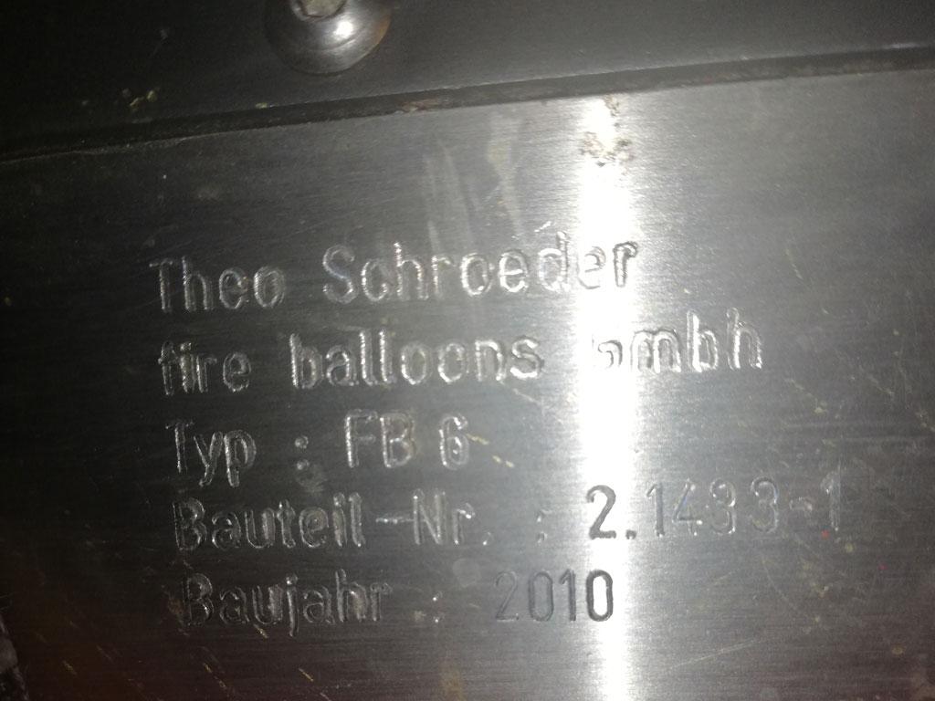 Schroeder FB6 double burner