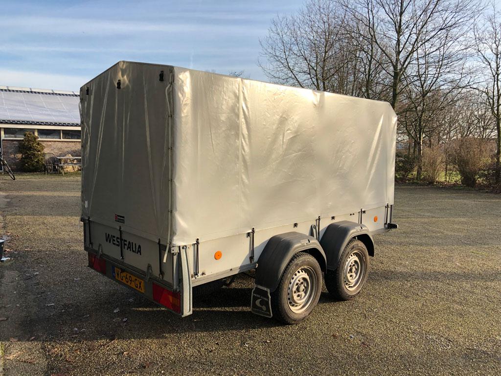 Tandem axle Westfalia trailer