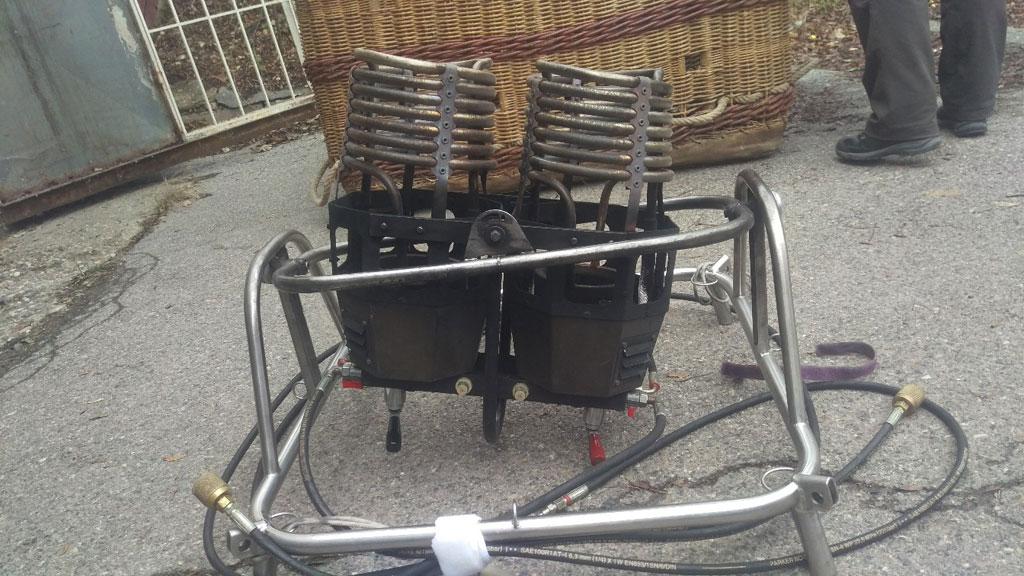 Schroeder V basket with FB5 burner