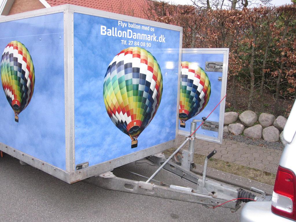 Hoffmann tandem axle trailer