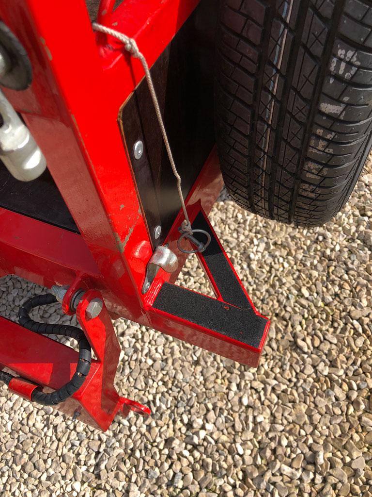 Canigo Remolcs single axle trailer