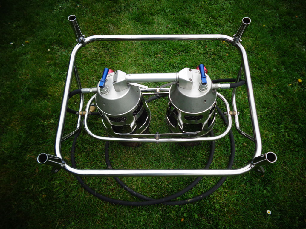 Ultramagic MK21 double burner
