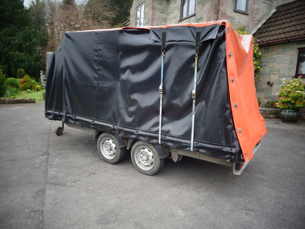 Tandem axle Ifor Williams trailer