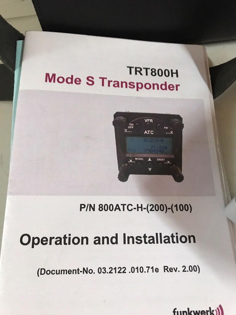 Funkwerk TRT800H transponder
