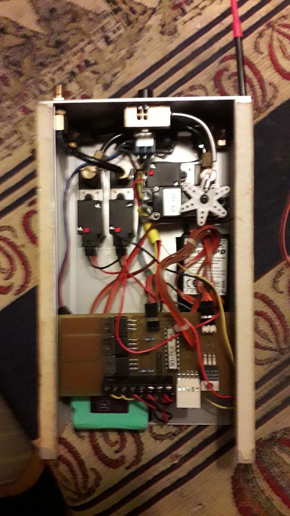 Boelling modelballoon control box