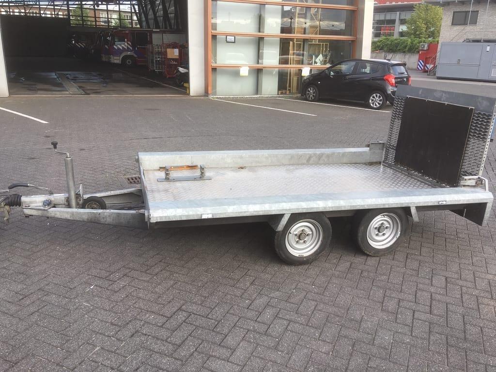 Hapert tandem axle trailer