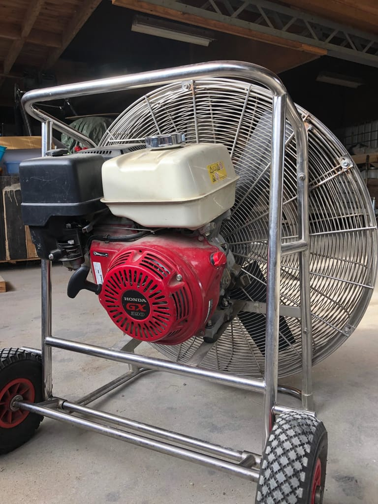 13.0 HP inflation fan