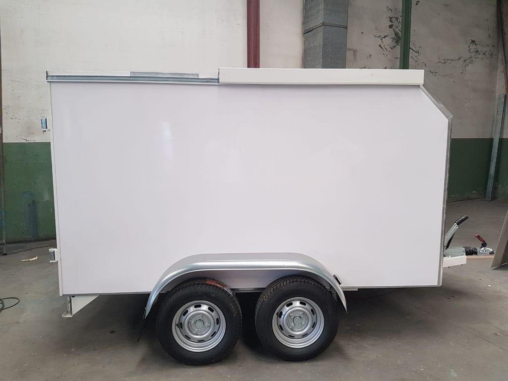 Magicar tandem axle trailer