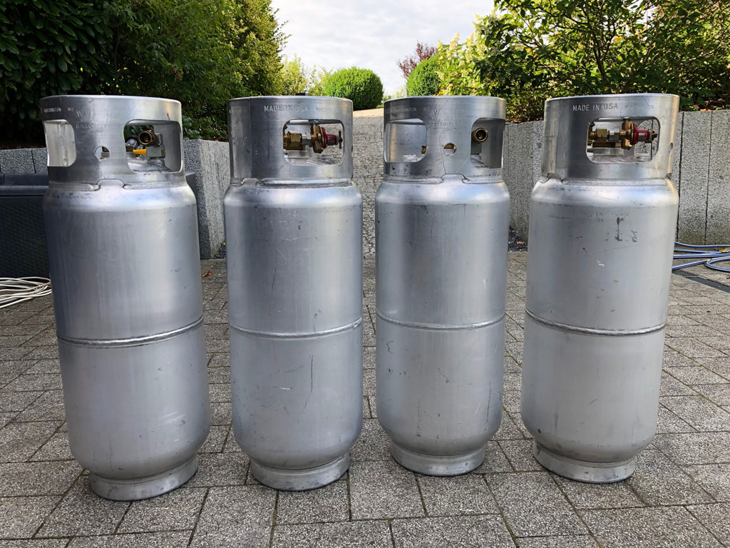 4x Worthington cylinders