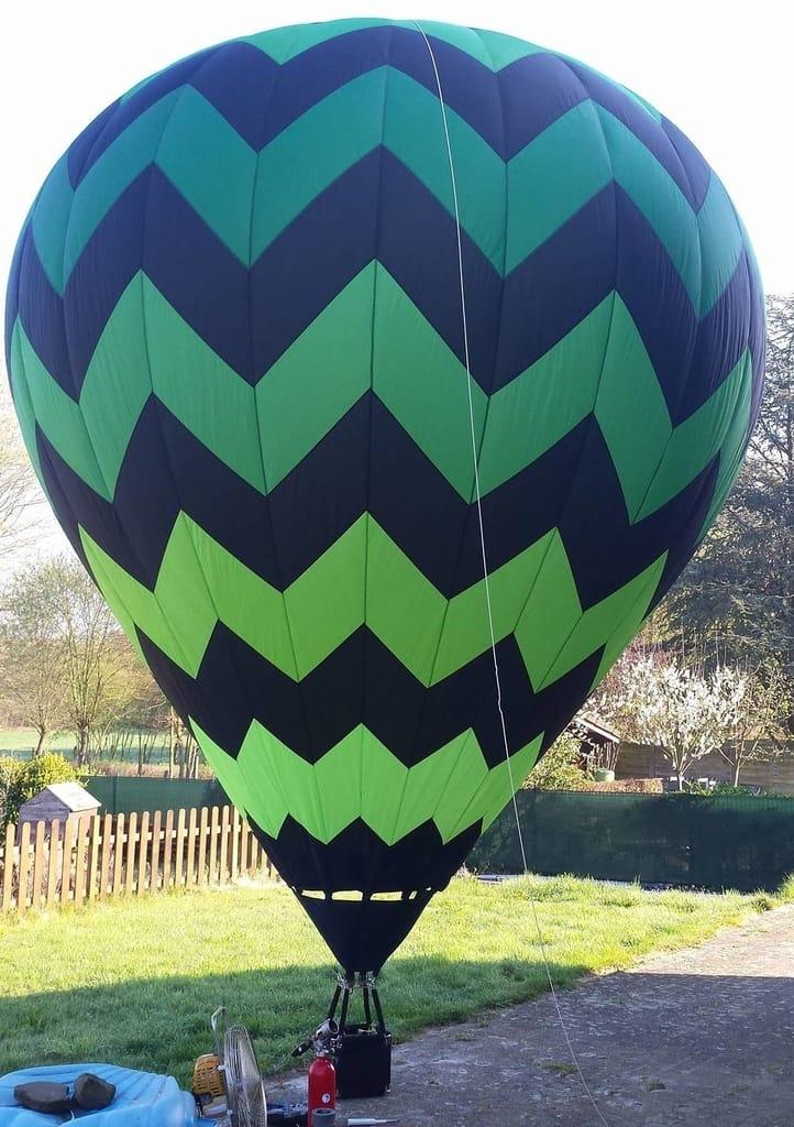25m3 model balloon envelope